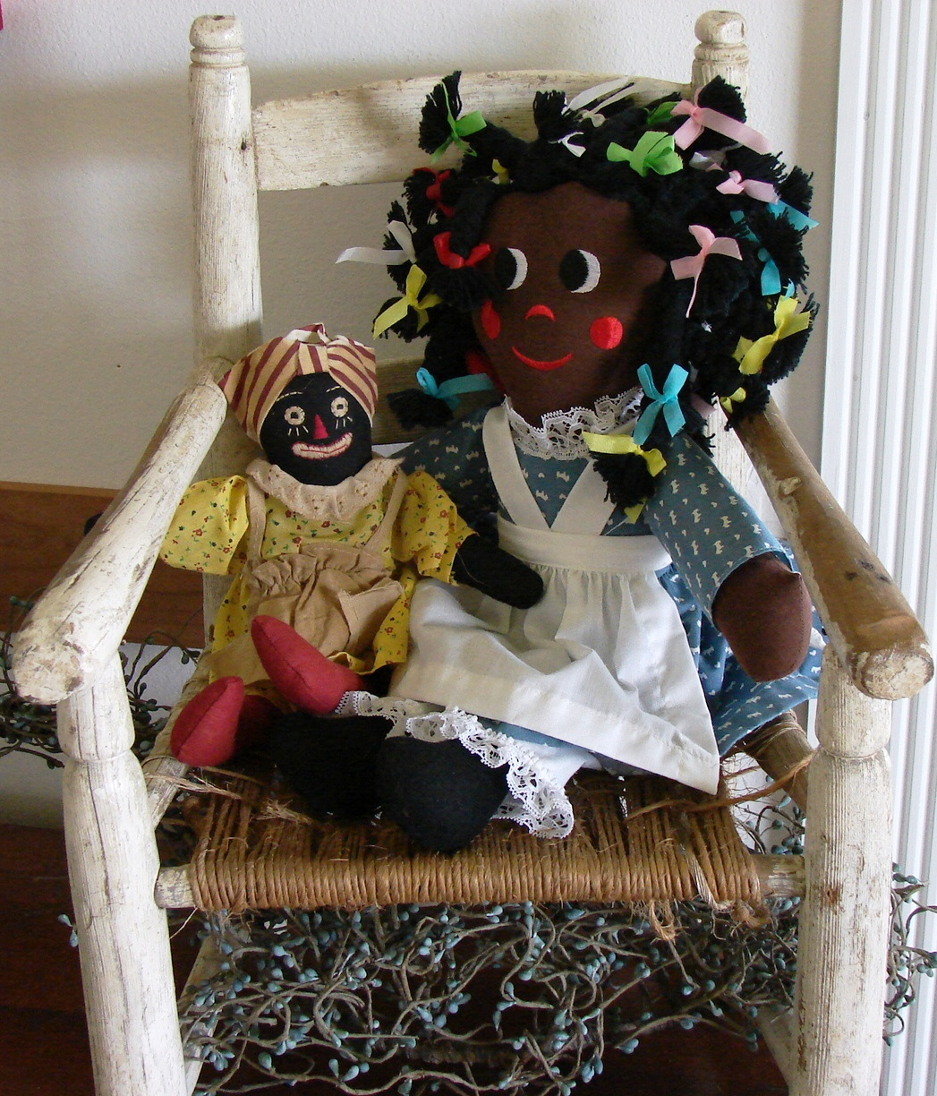 The Country Farm Home: Raggedy? Yes!--A Few Old Rag Dolls