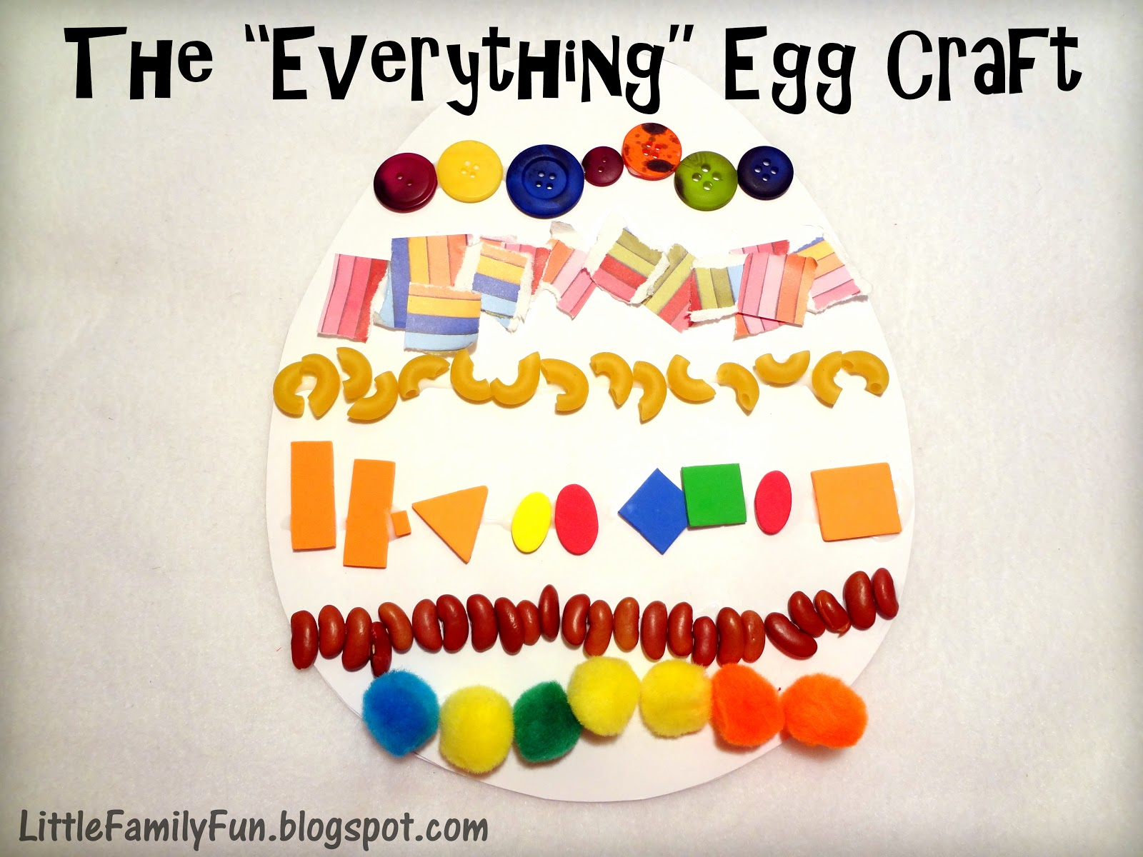 Little Family Fun Easter Crafts Activities
