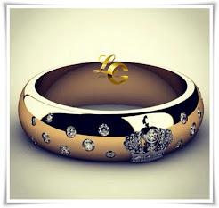 Aliança Coroa Ouro 18k