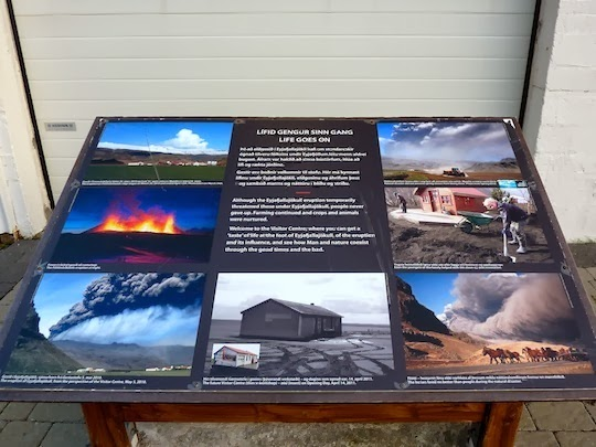 Visiting Eyjafjallajökull Erupts Visitor Centre, Iceland