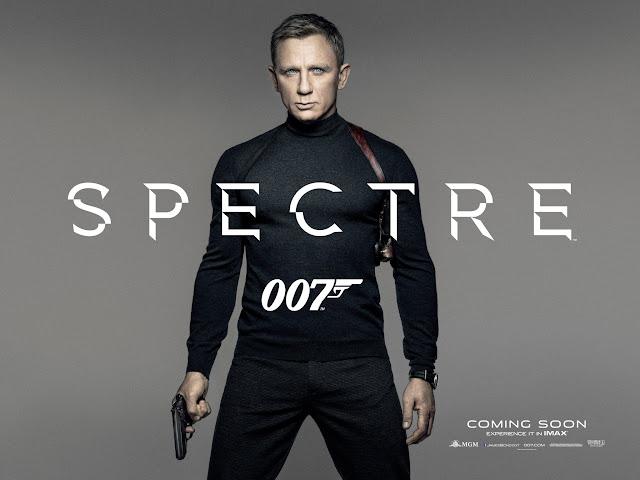 SPECTRE UK Quad Teaser Poster