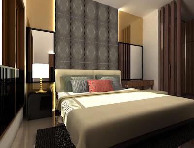 Design Kamar Utama minimalis modern