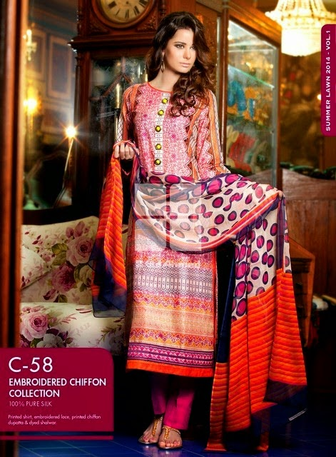 Gul Ahmed Stitched Collection 2014 by Gul Ahmed Shop
