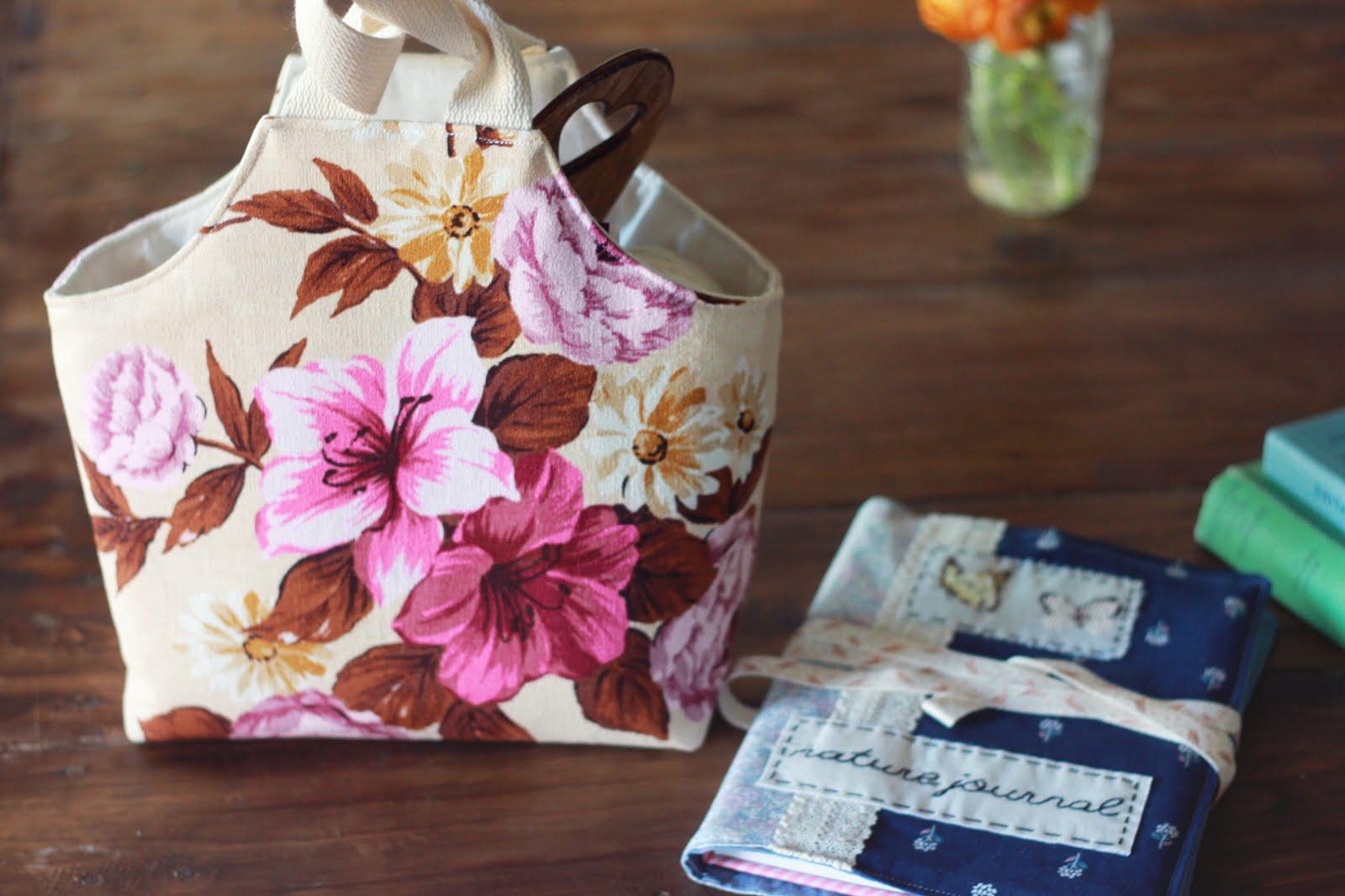 Knitting Bag Tutorial