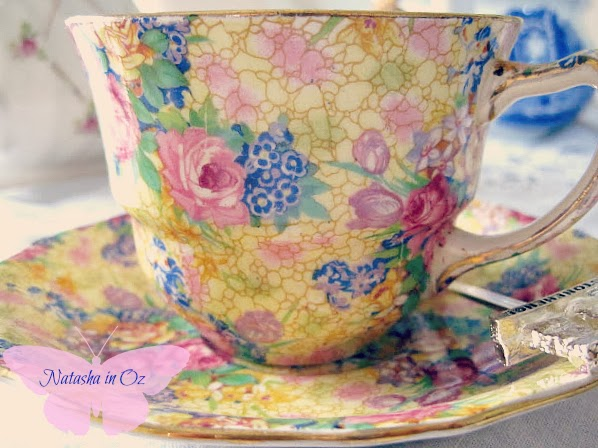 Valentine's Tea Party, Natasha in Oz, Tea, Royal Winton