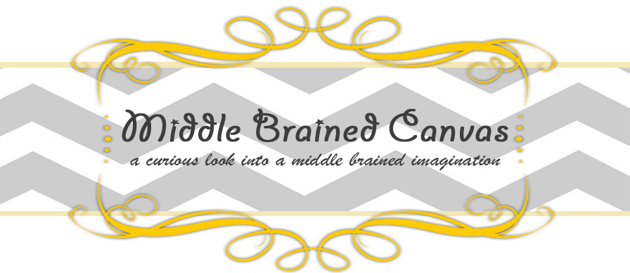 Middle Brained Canvas