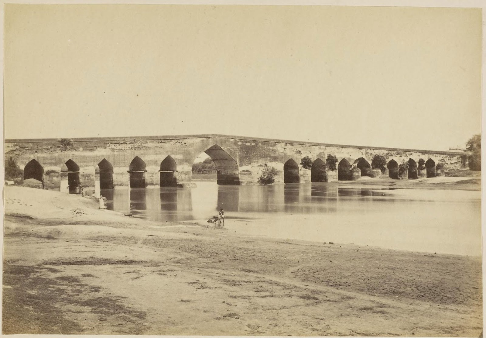 Stone Bridge Lucknow C1870 39 S Old Indian Photos