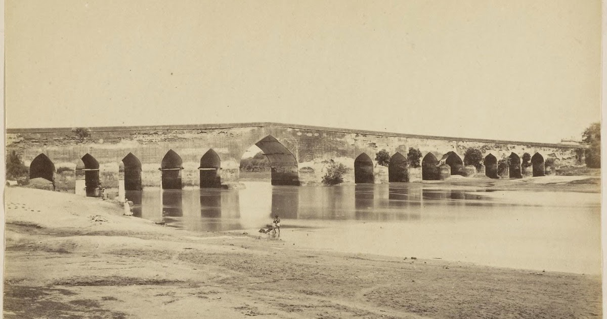 Stone bridge lucknow c1870 39 s old indian photos for Home architecture in lucknow