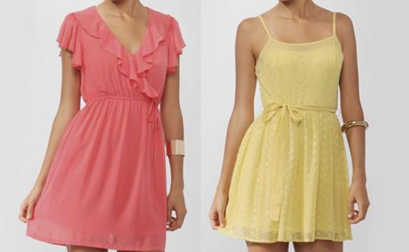 vestido color pastel