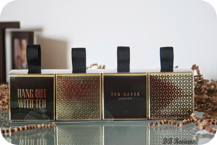 Ted Baker miniature hanging fragrance gift sets
