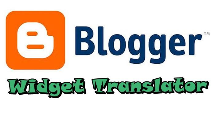 Blogger Widget Translator