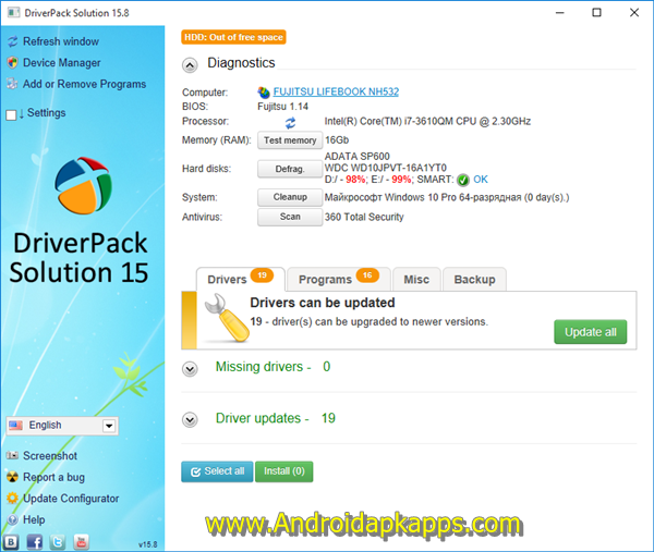 Free Download DriverPack Solution 15.8 Full ISO Terbaru 2015