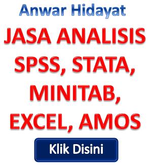Jasa Bantuan Olah dan Analisa Data Statistik