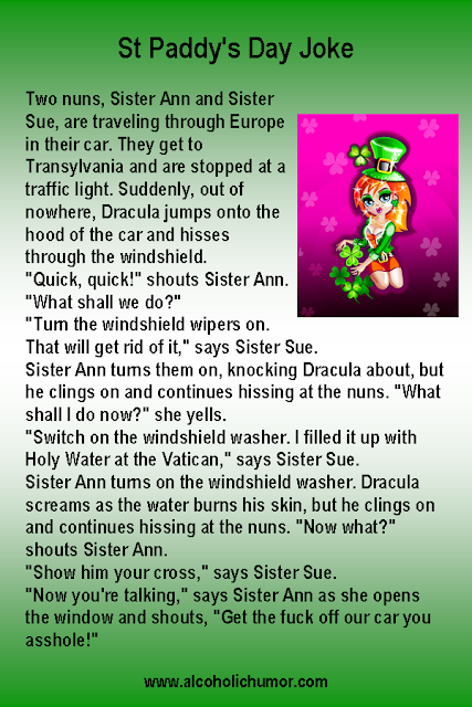 Irish Nuns and Dracula Joke