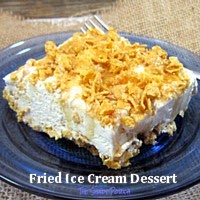 Fried Ice Cream Dessert
