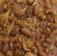 chalupa-pork and pintos