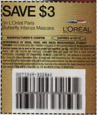 L oreal coupons 2019