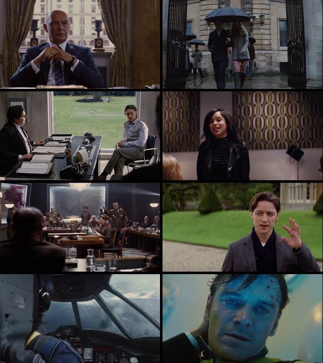 X: First Class (2011) Hindi Dubbed BRRip Full Movie