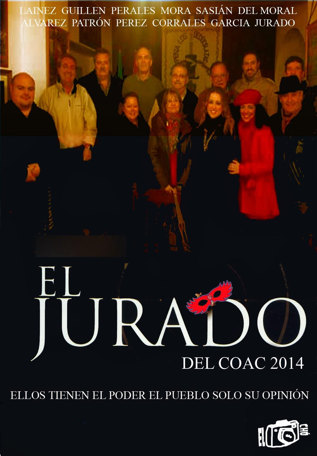 Los miembros del jurado