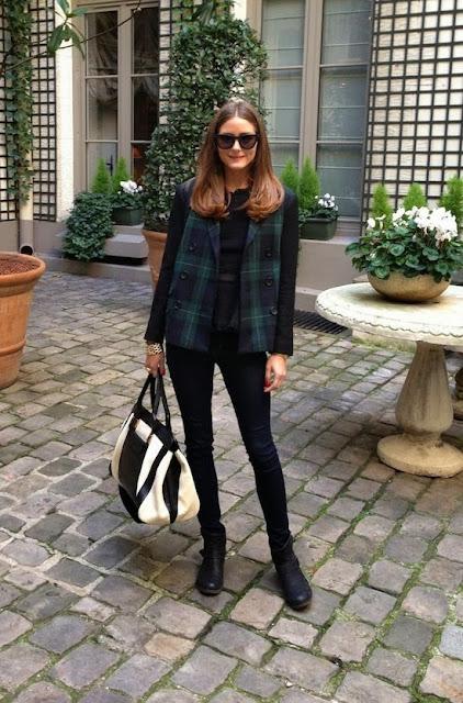 Olivia Palermo καρό