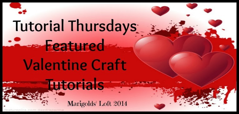 Valentine Craft tutorial Round up