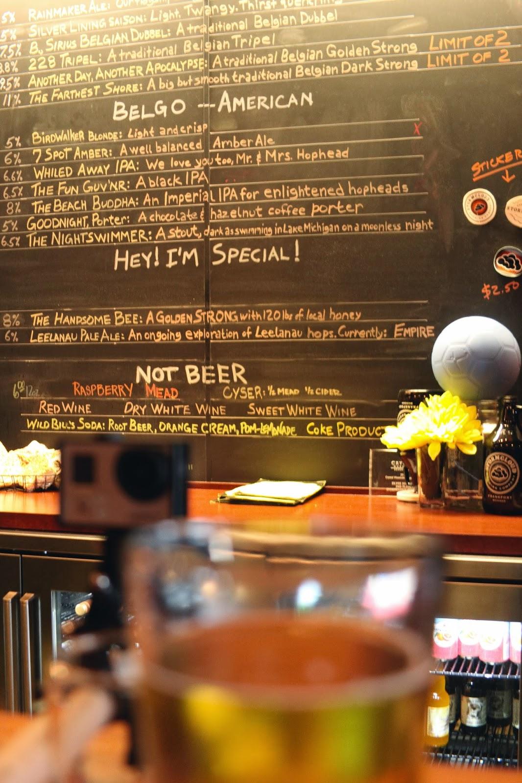 Frankfort Michigan, travel blog, blog, travel, adventure, brewery, michigan beer, micro beer, stromcloud