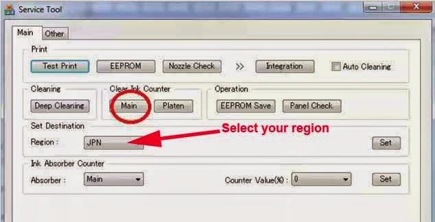 Service Tool v3400 Download Free | Installer Driver Printer