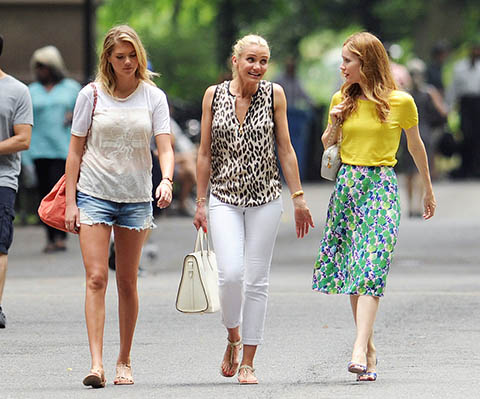 Kate Upton, Cameron Diaz and Leslie Mann in The Other Woman