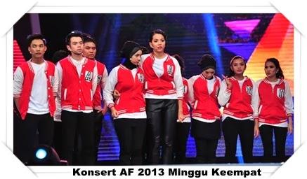 Konsert AF 2013 Minggu Keempat| Komen Juri, peserta akademi fantasia 2013, peserta af 2013, peserta akademi fantasia 2013 minggu keempat