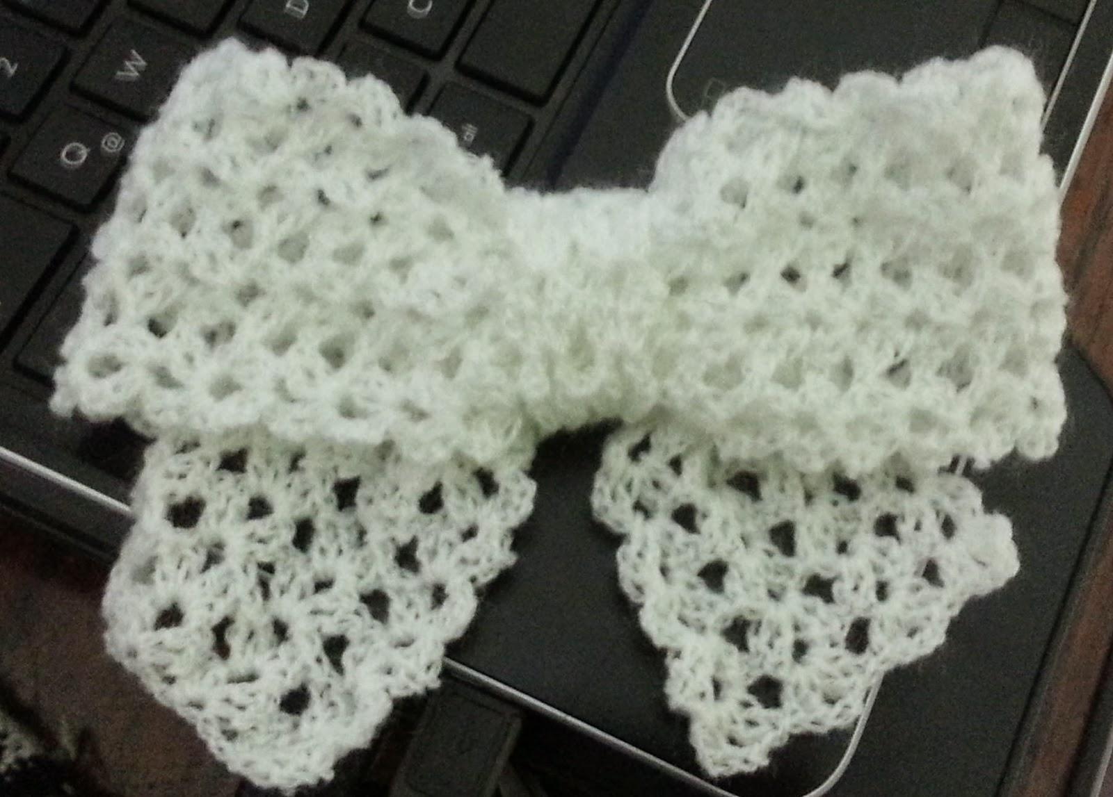 Manualidades Sencillas: Lazo a crochet