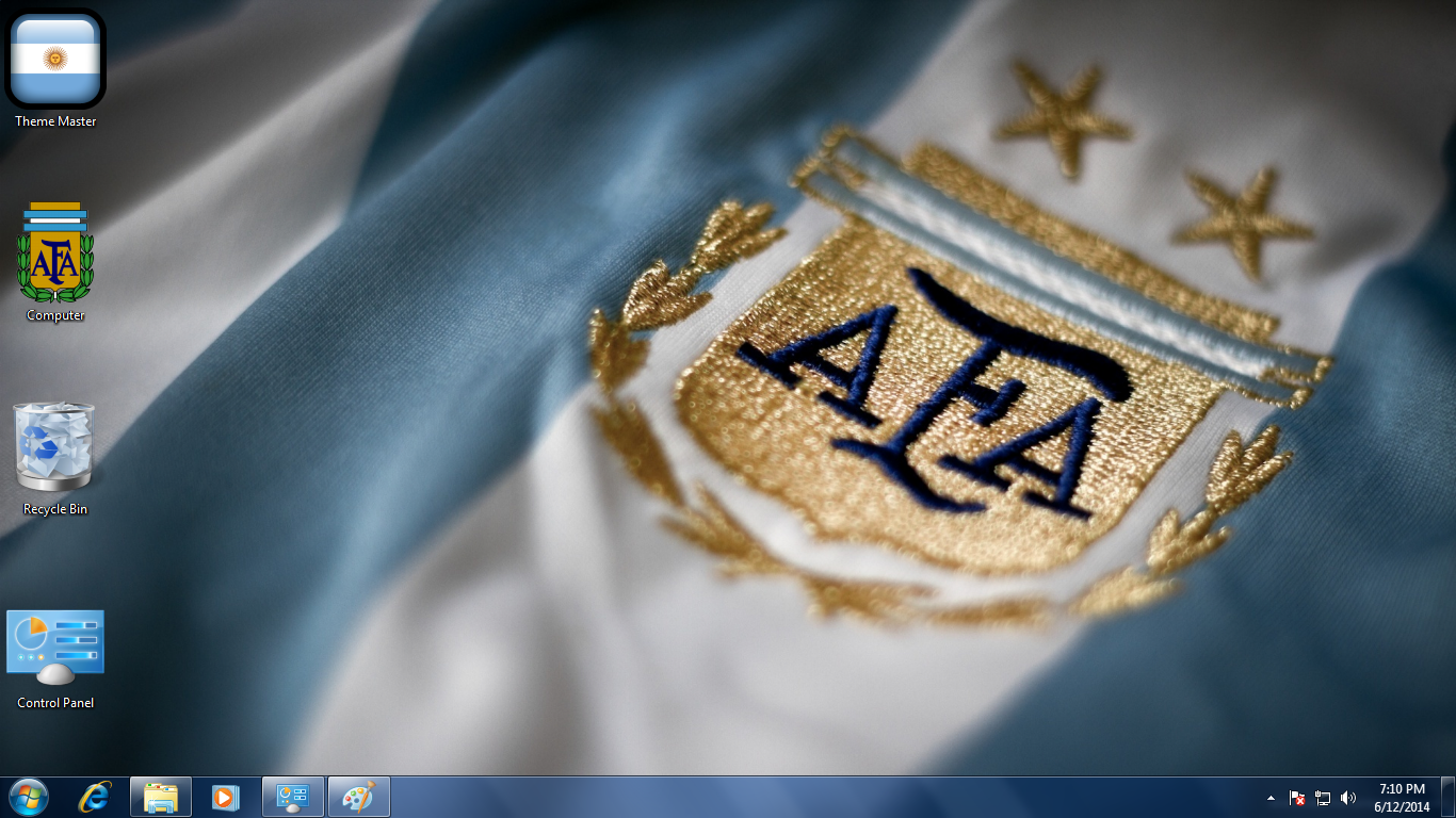 FIFA World Cup 2014 Theme for Windows: Team Argentina
