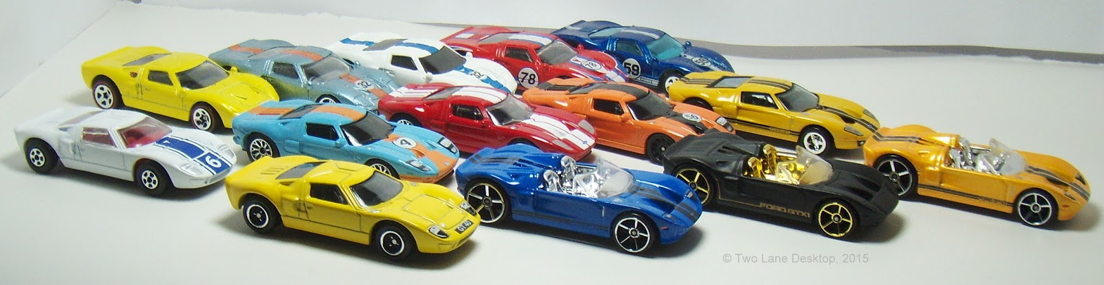 The Ford Gt And Gts From Hot Wheels Matchbox And Johnny Lightning