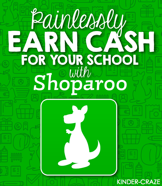 Earn Cash for Your School with Shoparoo. No more fundraising!