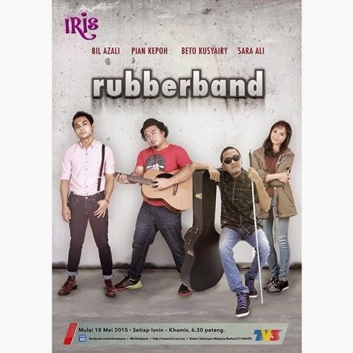 Pelakon utama drama Rubber Band TV3, pelakon pembantu, pelakon tambahan Rubber Band TV3, gambar drama TV3 Rubber Band
