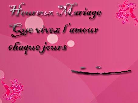 Carte de mariage originale
