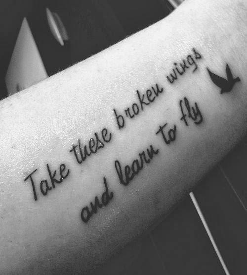 Pegue essas asas quebradas e aprenda a voar