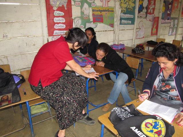 grade school classroom