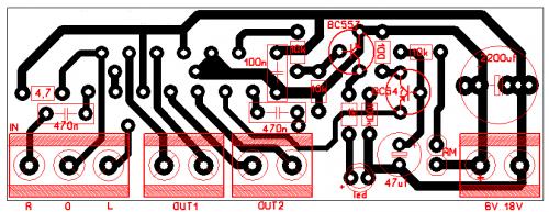 TDA8560Q amplifier Layout