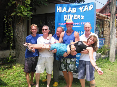 PADI IE, March 2013, Haad Yao Divers, Koh Phangan, Thailand