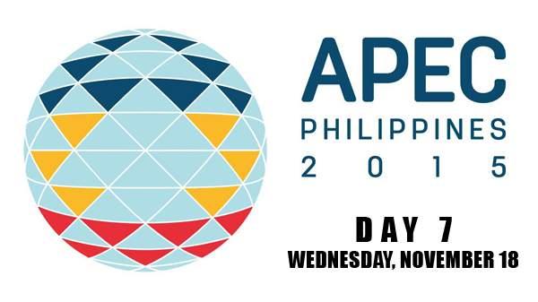 Image: APEC 2015 Day 7 - November 18