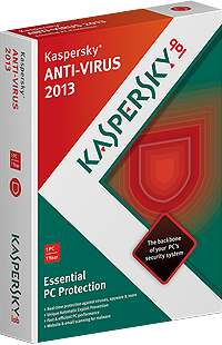 Kaspersky Antivirus 2013 License Key free