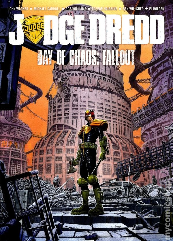 Review: Judge Dredd Day Of Chaos: Fallout