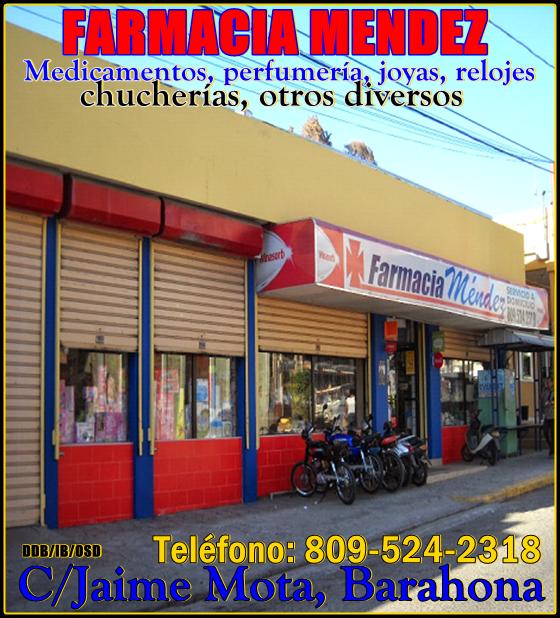 FARMACIA MENDEZ, ADEMÁS DE MEDICAMENTOS...HAY UN POCO DE TODO