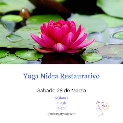 Yoga Nidra Restaurativo