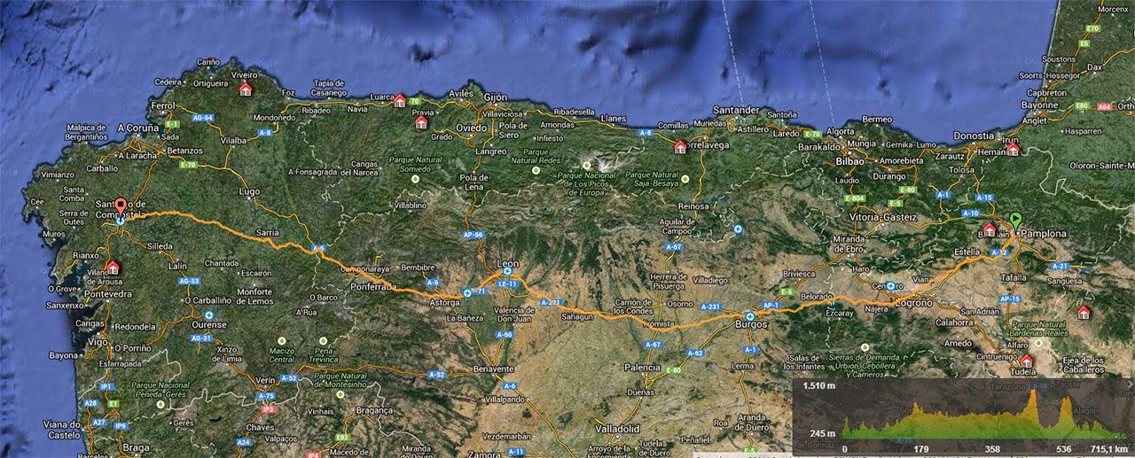 Track Camino de Santiago