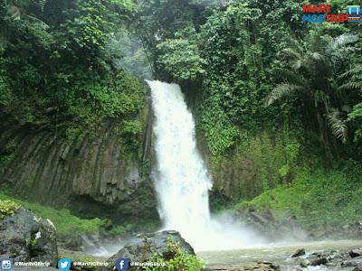 wisata indonesia air terjun aek malakkut