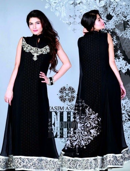 Formal Embroidered Eid Dresses by Vasim Asghar