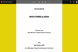 Download Bimtek Media Pendidikan .Pdf
