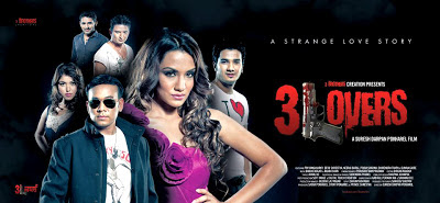 3 Lovers Nepali Movie 2012 Poster