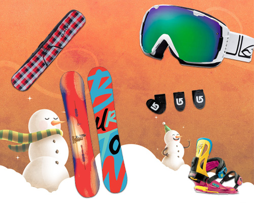 Подарки для сноубордистки